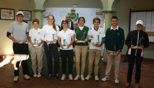 Álvaro Mueller y Constanza Guerrero, ganadores del Barbésula en La Cañada Golf