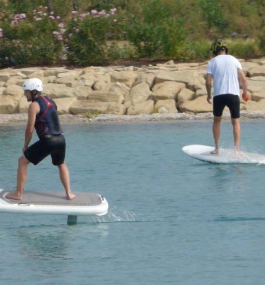 Jet Board en The Beach