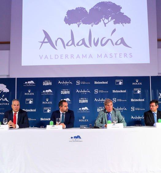 Presentación Andalucia Valderrama Masters