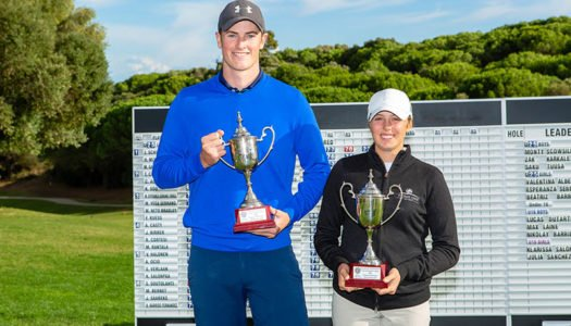 Scowsil y Albertazzi conquistan el Sotogrande International Young Talents Trophy de Golf