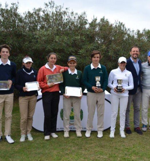 Ganadores Alborán Golf