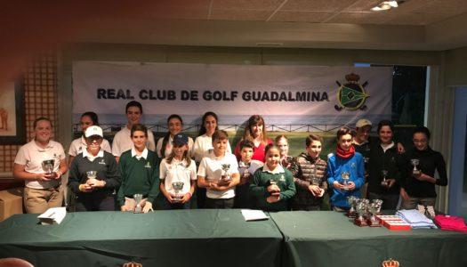 Marta Aguilar de La Cañada Golf brilla en el Autonómico de Guadalmina