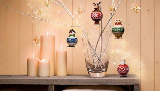 Otra forma de decorar la Navidad
