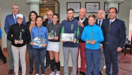 Félix Sánchez y María Vega consiguen que el Barbésula de Golf se quede en casa