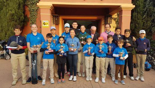 La cantera disfruta de la Copa Presidente en La Cañada Golf