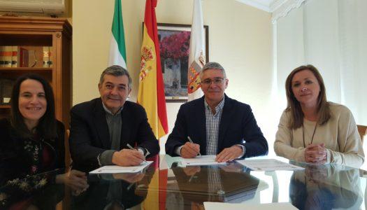 Mancomunidad y Castellar sellan el convenio marco de agua y basura