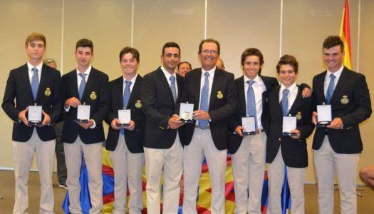 Ángel Ayora, de La Cañada, medalla de plata con la Andaluza Sub 18 de Golf