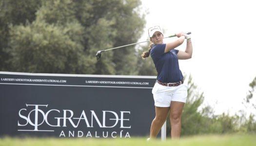 María Parra presenta candidatura La Reserva de Sotogrande Invitational Golf