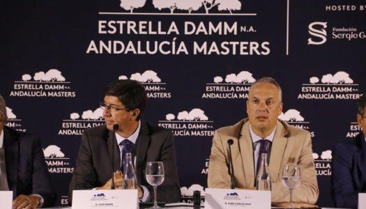 Valderrama presenta su Andalucía Masters de Golf