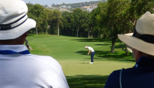 Álvaro Quirós se apunta a la fiesta del Andalucía Masters