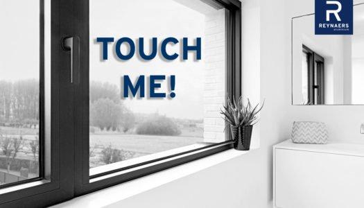 Manetas Touch de Reynaers Aluminium, vanguardia en diseño y funcionalidad
