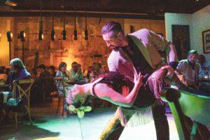 Tango, en Restaurante La Quinta