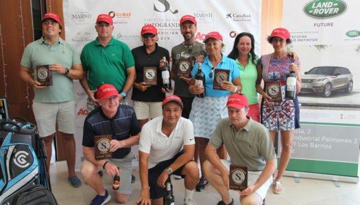 Homenaje a los ganadores del Circuito en Alcaidesa Golf