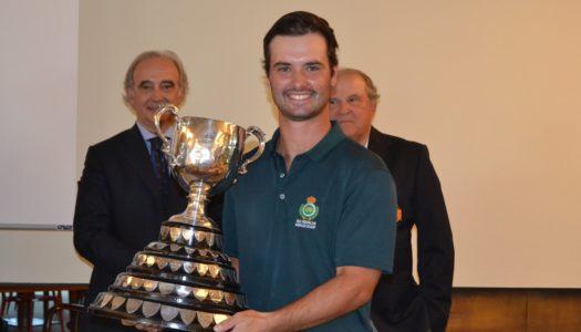 Enrique Marín gana la Copa Puerta de Hierro de Golf